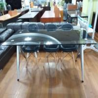 유리 회의용테이블