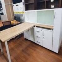 W1800 다용도 책상 SET / 수납장배치길이 W1801, 최대높이 H1170